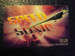 Carte Prépayée : Speed Sonic 7,5e - France