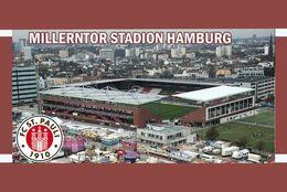 CARTE DE STADE.HAMBURG   ALLEMAGNE   MILLERNTOR  STADION # CS. 1074 - Calcio