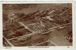 BELFAST - U.K - N. Eire -  Harland & Wolf's Shipyard - Antrim / Belfast
