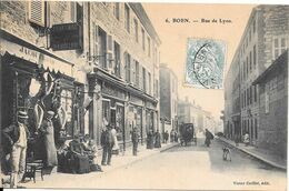 1907 - BOEN - Rue De Lyon - Otros Municipios