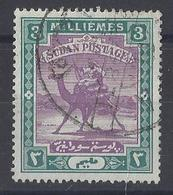 "SUDAN....QUEEN VICTORIA...(1887-01..)..."" 1898..""......CAMEL.........3m .......SG12.......CDS....VFU.. - Sudan (...-1951)"