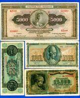 Gréce  8  Billets - Grecia