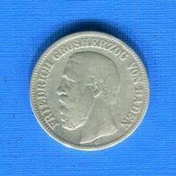 All  2  Mark 1876 G  Baden - [ 2] 1871-1918: Deutsches Kaiserreich