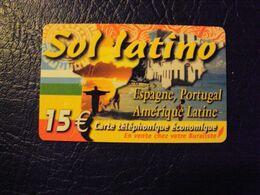 Carte Prépayée   Sol Latino 15e - France