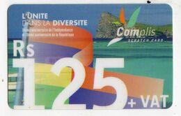 MAURICE PREPAYEE CELLPLUS 125 RS Date 2004 34ème Anniversaire De L'indépendance - Maurice