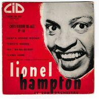 EP 45 TOURS LIONEL HAMPTON CHEFS D'OEUVRE DU JAZZ N°10 CID EUM 105 510 - Country & Folk