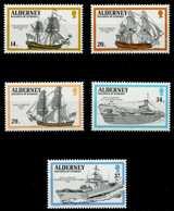 ALDERNEY Nr 43-47 Postfrisch S00B07E - Alderney