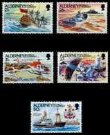 ALDERNEY Nr 49-53 Postfrisch S00B1AE - Alderney