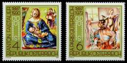 ÖSTERREICH 1987 Nr 1874-1875 Postfrisch S58FADA - 1945-.... 2. Republik