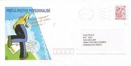 Nouvelle Caledonie New Caledonia Pret A Poster Entier Postal Stationery Public Prive Entreprise Publicite Neuf Froisee R - Prêt-à-poster