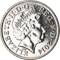 Monnaie, Grande-Bretagne, 10 Pence, 2014, SUP, Nickel Plated Steel - 1971-… : Monete Decimali