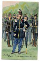 Militaria-- Personnage--illustrateur  Pierre Albert LEROUX --Capitaine De Chasseurs à Pied............à Saisir - Personaggi