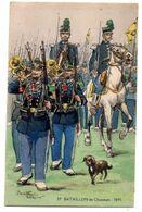 Militaria-- Personnage--illustrateur  Pierre Albert LEROUX -- 29° Bataillon De Chasseurs ...........à Saisir - Personaggi
