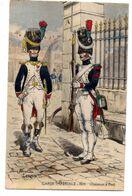 Militaria-- Personnage--illustrateur  Pierre Albert LEROUX -- Garde Impériale-- Chasseurs à Pied ...........à Saisir - Personaggi