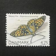 ◆◆◆Denmark 2007  Papillon Butterfly Obl   4.75K    USED  AA9171 - Danimarca