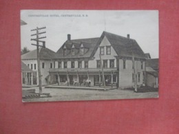Centreville Hotel   Centreville     New Brunswick >    Ref  4363 - New Brunswick