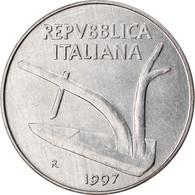 Monnaie, Italie, 10 Lire, 1997, Rome, TTB, Aluminium, KM:93 - 10 Lire