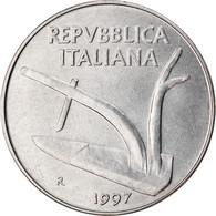 Monnaie, Italie, 10 Lire, 1997, Rome, TTB+, Aluminium, KM:93 - 10 Lire