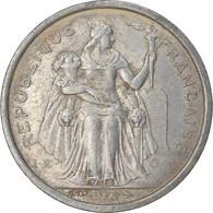 Monnaie, Nouvelle-Calédonie, 2 Francs, 1973, Paris, TB+, Aluminium, KM:14 - Nuova Caledonia