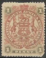 Rhodesia  1897   Sc#51  1p  MNG    2016 Scott Value $10 - Südrhodesien (...-1964)