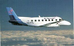 Cook Carte Postale Air Rarotonga Embraer 110 Bandeirante Plane Avion Neuve TBE - Cook-Inseln