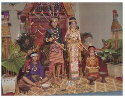 (N 35 A) Indonesia - Wedding Couple In South Sulawasi - Nozze