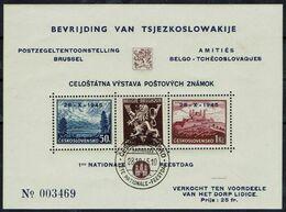 BELGIE Belgien - CSSR AS15** / Lidické Lidice / Belgie 1945 / Ceskoslovensk / Bratislava 1937 / Vlamský Textu - Autres