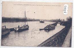CASTETS-EN-DORTHE- LES BORDS DE LA GARONNE EN AMONT DU CANAL - Altri Comuni