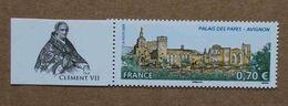 """T3-D1 : Le Palais Des Papes à Avignon -Vaucluse - Avec Vignette """"Clément VII"""" (Jules De Médicis) - Ongebruikt"""