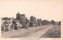 Escadron D'Auto Mitrailleuses De Cavalerie - Matériel
