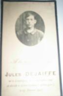 Jules Dejaiffe Né à Loupoigne Le 18 Septembre 1897 Et Décédé à Alten - Grabow ( Allemagne ) Le 25 Février 1917 TBE - Overlijden