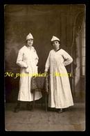 37 - TOURS - FEMMES - PHOTO BOIDRON, 10 BD THIERS - CARTE PHOTO ORIGINALE - Tours