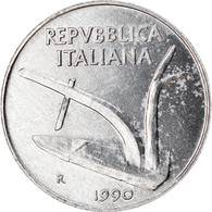 Monnaie, Italie, 10 Lire, 1990, Rome, TTB, Aluminium, KM:93 - 10 Lire