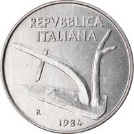 Monnaie, Italie, 10 Lire, 1984, Rome, TTB, Aluminium, KM:93 - 10 Lire