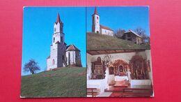 Sentrupert.Cerkev Sv.Barbare Na Okrogu.Cerkev Sv.Neze Na Zaloki.Zaloka,Okrog - Slovenië