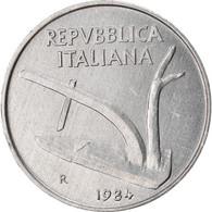 Monnaie, Italie, 10 Lire, 1984, Rome, TB+, Aluminium, KM:93 - 10 Lire