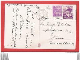 CP SUISSE HELVETIA TP Pro Juventute Obl ZURICH 1 BRIEFVERSAND 20 XII 1936 Vers WIEN - Briefe U. Dokumente