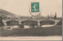 BOURG ET COMIN -  PONT CANAL SUR   L AISNE - Andere Gemeenten