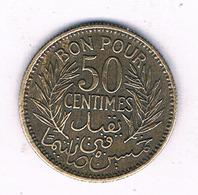 50 CENTIMES 1941 TUNESIE /7242/ - Tunisia