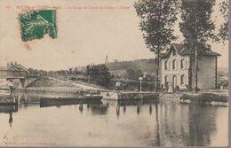 BOURG ET COMIN -  LE LARGE DU CANAL DE  L AISNE - Andere Gemeenten