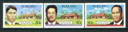 Nauru 1981 30th Anniversary Of Nauru Local Government Council Set MNH (SG 235-237) - Nauru