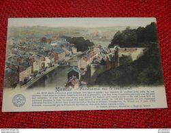 NAMUR  -  Panorama Sur Le Confluent - Namur