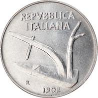 Monnaie, Italie, 10 Lire, 1992, Rome, TTB+, Aluminium, KM:93 - 10 Lire