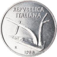 Monnaie, Italie, 10 Lire, 1988, Rome, SUP, Aluminium, KM:93 - 10 Lire
