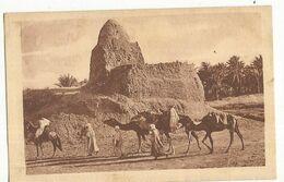 CPA,  Algérie, Témacine , Un Marabout à Ténacine Animée  Ed. Lib. Des Tou..1932 - Altre Città