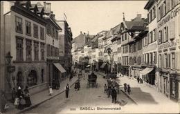 CPA Bâle Basel Stadt Schweiz, Steinenvorstadt, Frisör A. Hartmann - BS Basel-Stadt
