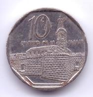 CUBA 2008: 10 Centavos, KM 576 - Cuba
