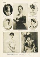 """Der Weibliche """"Kabinettsrat"""" Der Mrs.Roosevelt / Druck, Entnommen Aus Zeitschrift/ 1905 - Books, Magazines, Comics"""