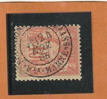 SAGE N° 94 Orange   - CACHET  BOURBONNE -les-BAINS( HTE-MARNE )  24 NOV 1895 -centré - REF 1603 - 1876-1898 Sage (Type II)