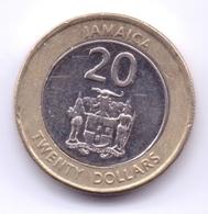 JAMAICA 2008: 20 Dollars, Magnetic - Jamaica